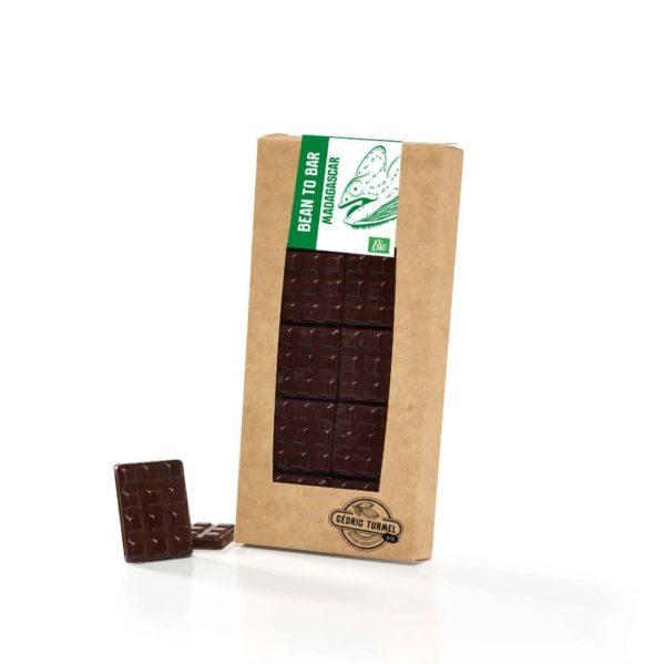 chocolat noir bio de Madagascar