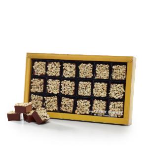 rochers chocolat au lait praliné amandes et noisettes