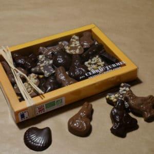chocolats de Pâques bio Cédric Turmel, friture de Pâques