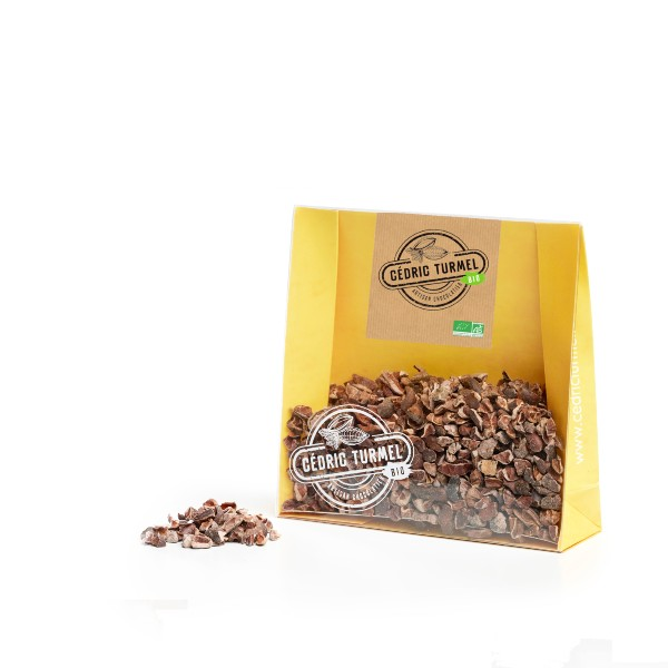 éclats de fève de cacao