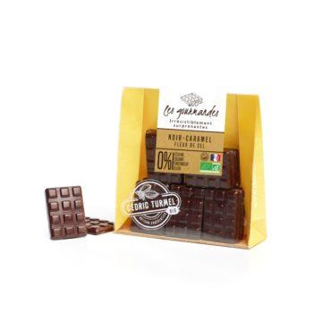 chocolat noir caramel fleur de sel