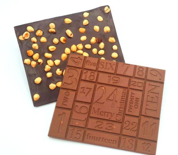 calendrier de l'avant chocolat