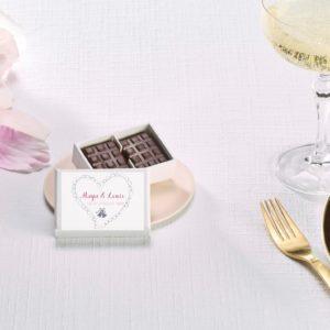 boites chocolat personnalisables