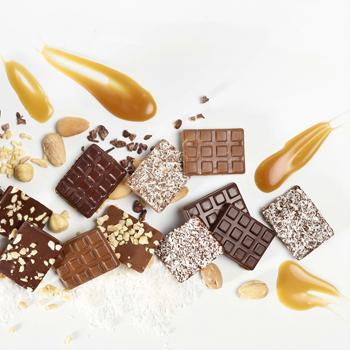 Savourez les chocolats aux noisettes ou au caramel beurre salé, demandez un devis ou remplissez notre formulaire de contact - Cedric Turmel