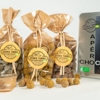 Apéro Choco - - Cédric Turmel artisan chocolatier 100% bio