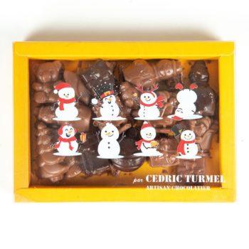 Boîte figurines de Nöel - Cédric Turmel artisan chocolatier