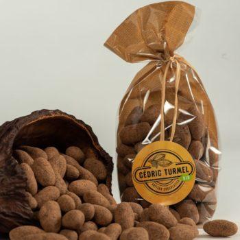 Fèves enrobées - Cédric Turmel artisan chocolatier 100% bio