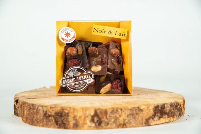 Mendiants mélangés noir et lait - Cédric Turmel artisan chocolatier