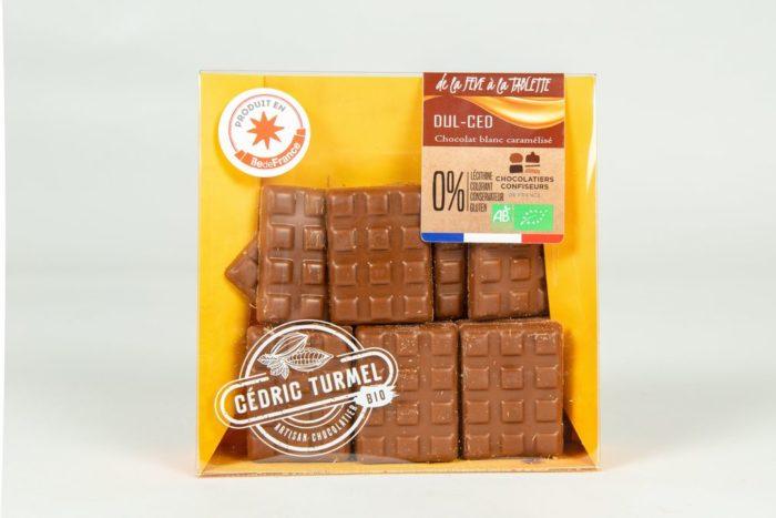 Mini-tablettes Dulced - Cédric Turmel artisan chocolatier 100% bio