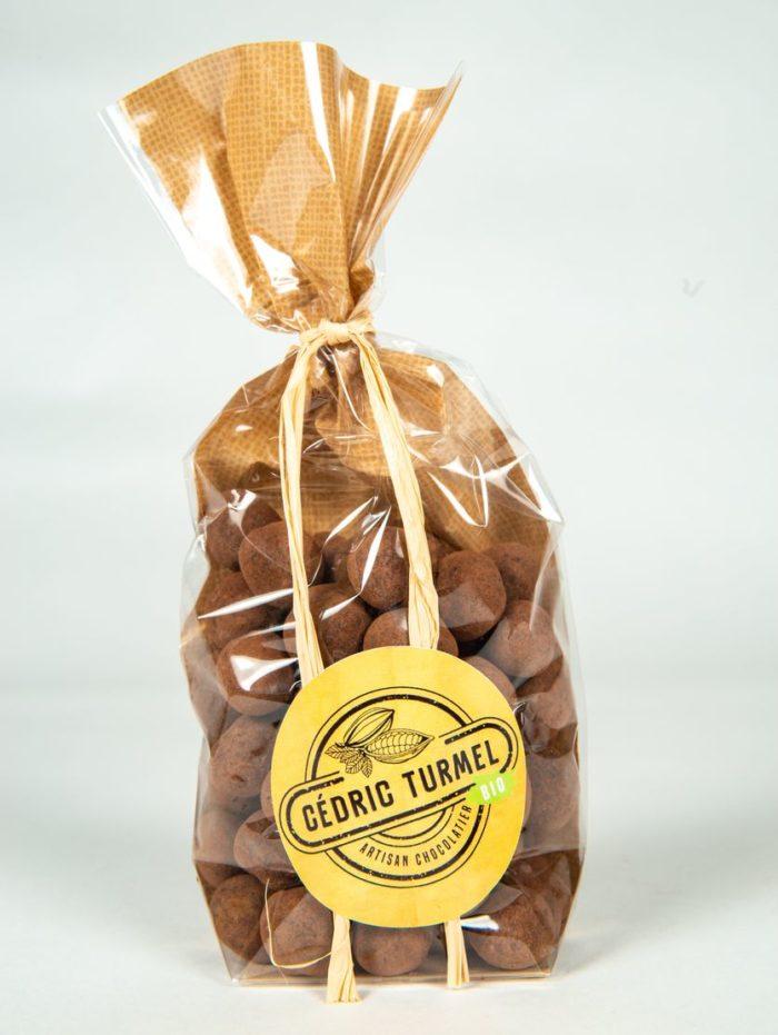Noisettes chocolat au lait - Cédric Turmel artisan chocolatier 100% bio - Cédric Turmel artisan chocolatier 100% bio