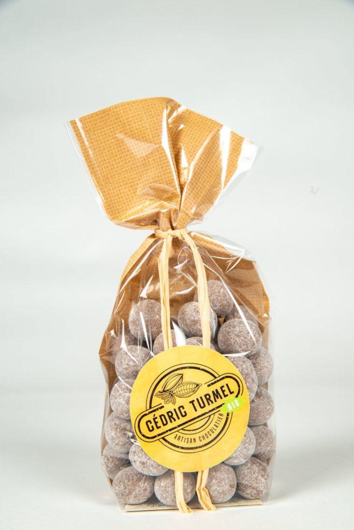 Noisettes au chocolat noir - Cédric Turmel artisan chocolatier 100% bio
