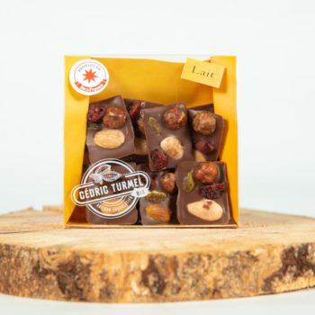 """Mendiants """"lait"""" - Cédric Turmel artisan chocolatier"""