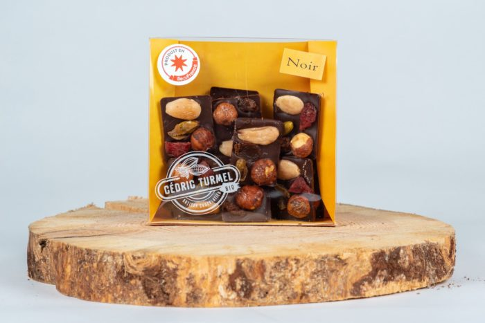 "Mendiants ""noir""- Cédric Turmel artisan chocolatier"
